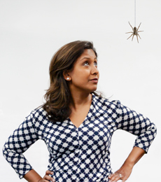 Anita-and-spider